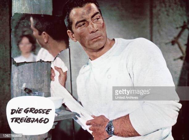 Kino. Die grosse Treibjagd, aka: Söldner der Gewalt, Deutschland/Italien/Spanien Regie: Mel Welles, Darsteller: Ray Danton.