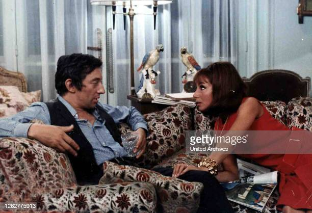 Kino. Du Bist Wunderbar, 1960er, 1960s, Film, Slogan, Du Bist Wunderbar, 1960er, 1960s, Film, Slogan, Serge Gainsbourg, Andrea Parisy, 1969.