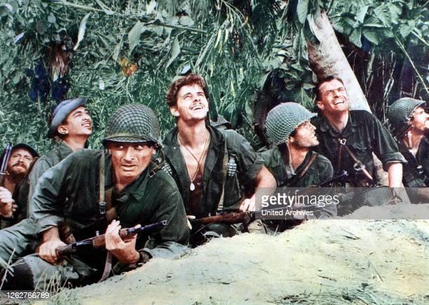 Kino. Durchbruch Auf Befehl, Merrill's Marauders, Durchbruch Auf Befehl, Merrill's Marauders, Jeff Chandler, Peter Brown, Ty Hardin, Charles Hayward...