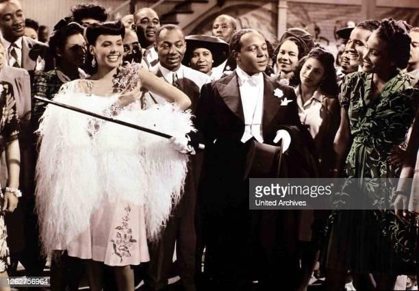 Kino. Ein Haeuschen Im Himmel, Cabin In The Sky, Ein Haeuschen Im Himmel, Cabin In The Sky, Lena Horne, Eddie 'Rochester' Anderson Little Joe kann...