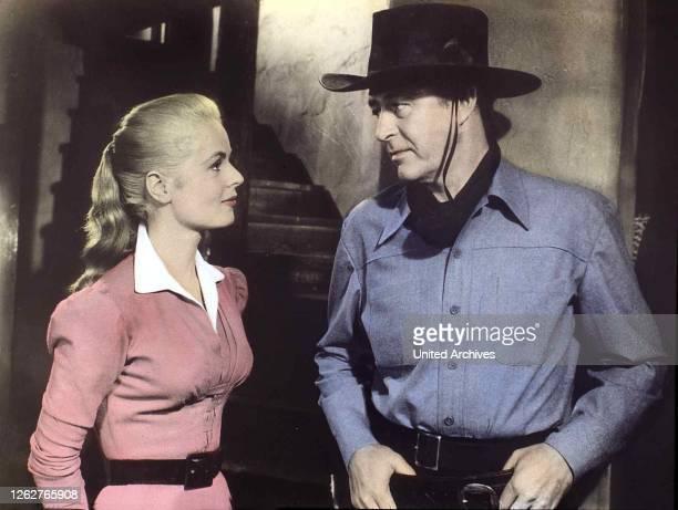 Kino Ein Mann Allein Man Alone A Ein Mann Allein Man Alone A Mary Murphy Ray Milland Nadine ist Wes Steele bei der Entlarvung der wahren Mörder...