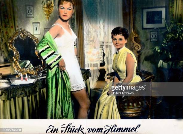 Kino. Ein Stück vom Himmel, Deutschland Regie: Rudolf Jugert, Darsteller: Margit Saad, Ingrid Andree.