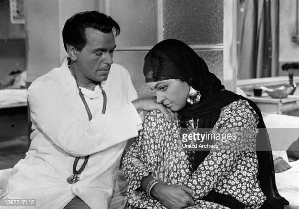 Kino. EL HAKIM / D, 1957 / Rolf Thiele O.W. FISCHER , NADJA TILLER Regie: Rolf Thiele / EL HAKIM D, 1957.