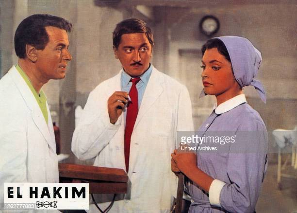 Kino. El Hakim, Deutschland Regie: Rolf Thiele, Darsteller: Nadja Tiller, Robert Graf, O. W. Fischer.