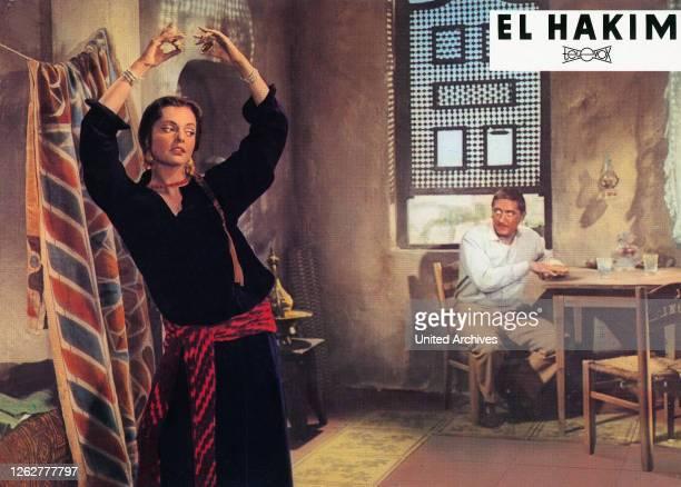 Kino. El Hakim, Deutschland Regie: Rolf Thiele, Darsteller: Nadja Tiller, Robert Graf.