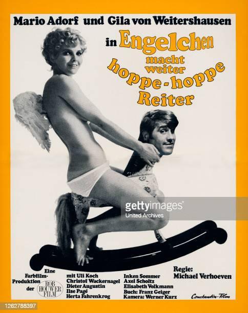 Kino. Engelchen macht weiter - Hoppe, Hoppe, Reiter, Deutschland Regie: Michael Verhoeven, Darsteller: Mario Adorf, Gila von Weitershausen.