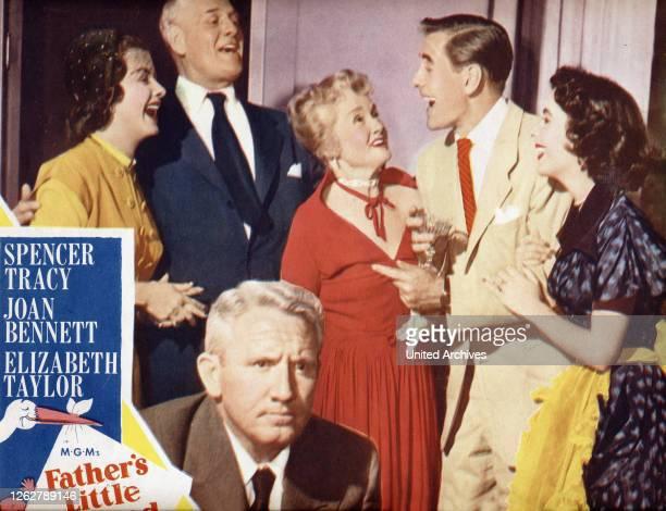 Kino. Father's Little Dividend, aka Ein Geschenk des Himmels, USA Regie: Vincente Minnelli, Darsteller: Spencer Tracy, Elizabeth Taylor; Joan...