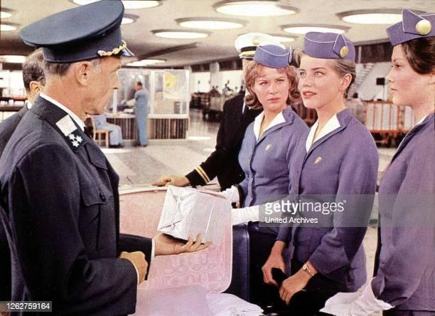 Kino. Flieg Mit Mir Ins Glueck, Come Fly With Me, Flieg Mit Mir Ins Glueck, Come Fly With Me, Lois Nettleton, Dolores Hart, Pamela Tiffin Auf dem...