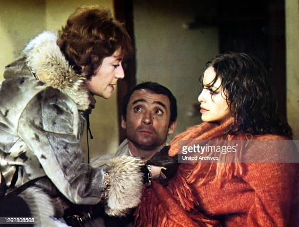 Kino. Gefährlich lebt sich's besser, F Regie: Claude Makovski, ANNIE GIRARDOT, CLAUDE BRASSEUR, SYDNE ROME.