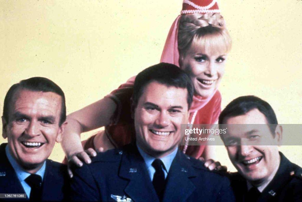 I Dream Of Jeannie, 1960Er, 1960S, Bezaubernde Jeannie, Fernsehen, I Dream Of Jeannie, Television, Us Serie, Us Series : Nachrichtenfoto