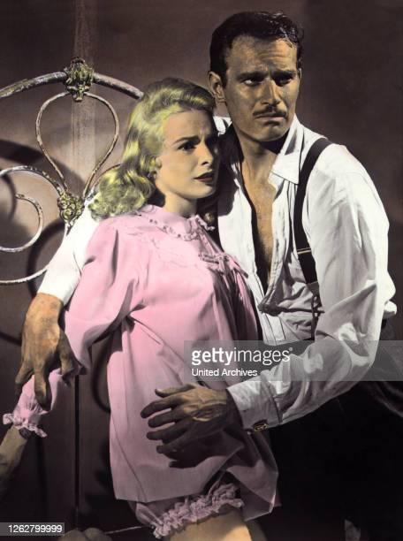 Kino Im Zeichen des Bösen USA Regie Orson Welles JANET LEIGH CHARLTON HESTON