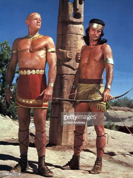 Kino Könige der Sonne USA Regie J Lee Thompson Stichwort Indianer Glatze Totem Pfeil Bogen