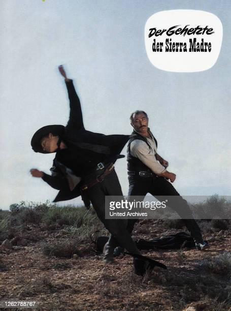 Kino. La resa dei conti, aka Der Gehetzte der Sierra Madre, Italien, Spanien Sergio Sollima, Lee Van Cleef.