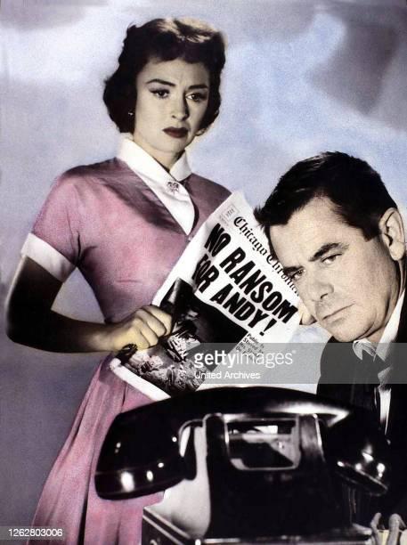 Kino Menschenraub aka Ransom USA 1956 Regie Alex Segal Darsteller Glenn Ford Donna Reed Leslie Nielsen