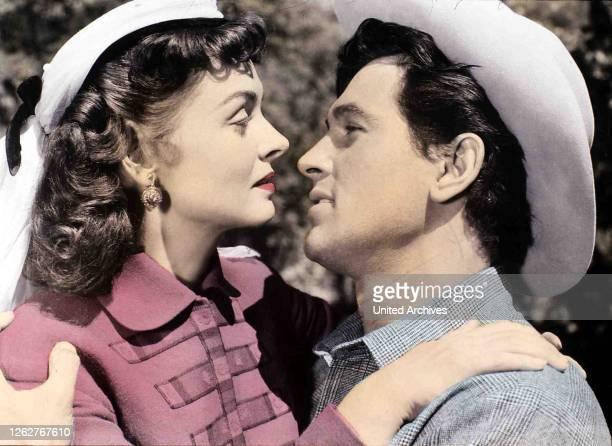 Kino Mit Der Waffe In Der Hand Gun Fury Mit Der Waffe In Der Hand Gun Fury Donna Reed Rock Hudson Ben Warren und seine Braut Jennifer Ballard sind...