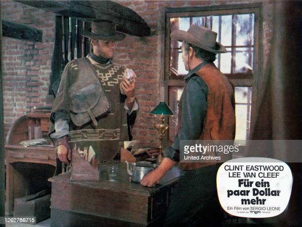 Kino. Per qualche dollaro in piu, Italien/Spanien/Deutschland aka: Für ein paar Dollar mehr, Regie: Sergio Leone, Darsteller: Clint Eastwood.
