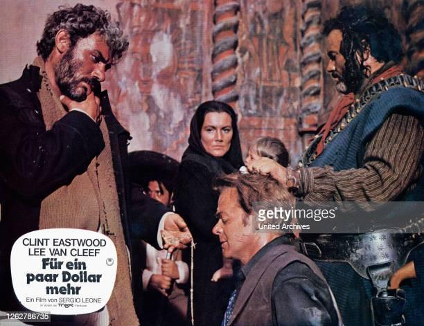 Kino. Per qualche dollaro in piu, Italien/Spanien/Deutschland aka: Für ein paar Dollar mehr, Regie: Sergio Leone, Darsteller: Lee van Cleef, Mara...