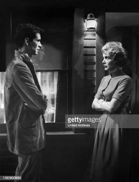 Alfred Hitchcock ANTHONY PERKINS JANET LEIGH