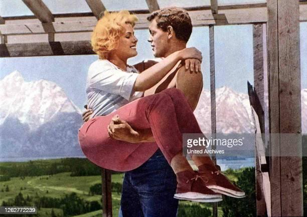 Kino. Sommer Der Erwartung, Spencer's Mountain, Sommer Der Erwartung, Spencer's Mountain, James McArthur, Mimsy Farmer Clayboy verliebt sich in...