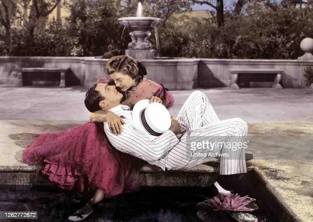 Kino. Spiel Zu Dritt, 1940er, 1940s, Film, Paar, Take Me Out To The Ball Game, couple, Spiel Zu Dritt, 1940er, 1940s, Film, Paar, Take Me Out To The...