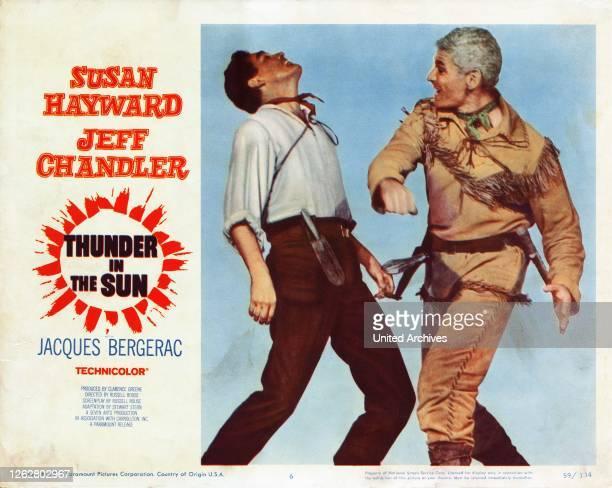Donner in der Sonne USA Regie Russell Rouse Darsteller Jacques Bergerac Jeff Chandler