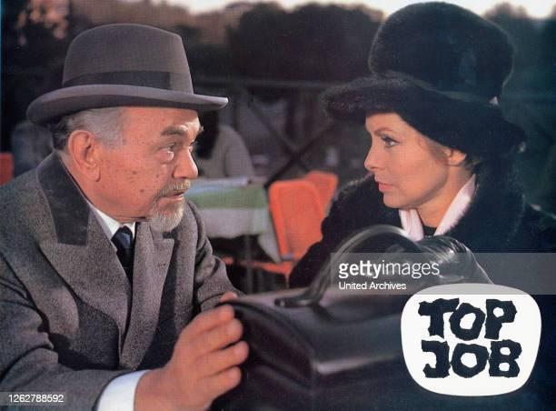 Kino. Top Job, Italien / Spanien / Deutschland aka: Ad ogni costo, Regie: Giuliano Montaldo, Darsteller: Edward G. Robinson, .