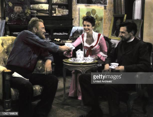 Kino. Vincent van Gogh - Ein Leben in Leidenschaft, USA Regie: Vincente Minelli, KIRK DOUGLAS, PAMELA BROWN.