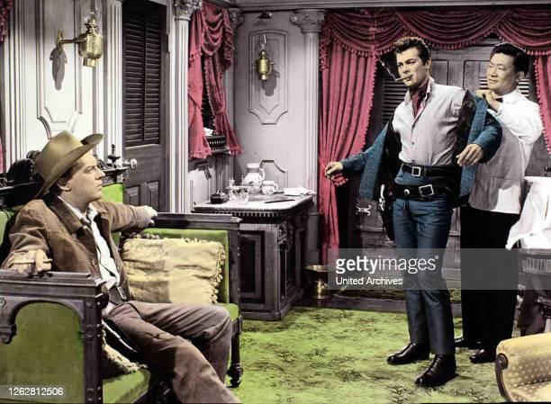Kino. Vom Teufel verführt aka. The Rawhide Years, USA, 1955 Regie: Rudolph Maté Actors/Stars: Tony Curtis, Colleen Miller, Arthur Kennedy.