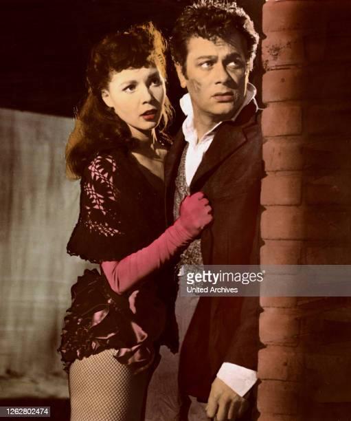 Kino. Vom Teufel verführt, USA Regie: Rudolph Maté, COLLEEN MILLER + TONY CURTIS;.