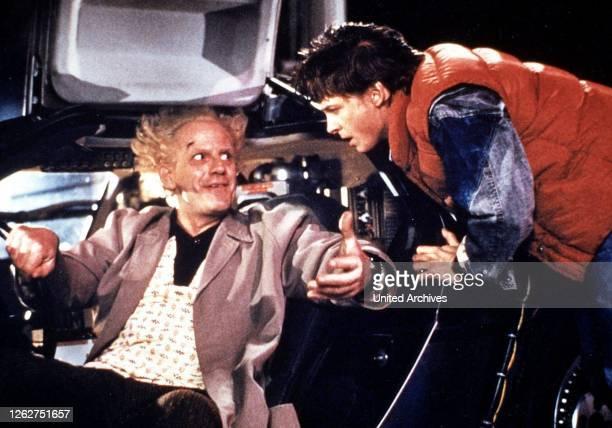 Kino. Zurueck In Die Zukunft, Back To The Future, Zurueck In Die Zukunft, Back To The Future, Christopher Lloyd, Michael J. Fox Dann wird es ernst:...