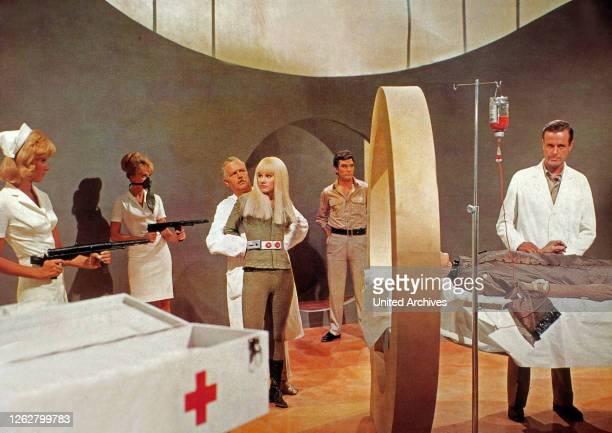 Kino....4...3...2...1...morte, aka: Perry Rhodan - SOS aus dem Weltall, Deutschland/Spanien/Italien/Monaco Regie: Primo Zeglio, Darsteller: Pinkas...