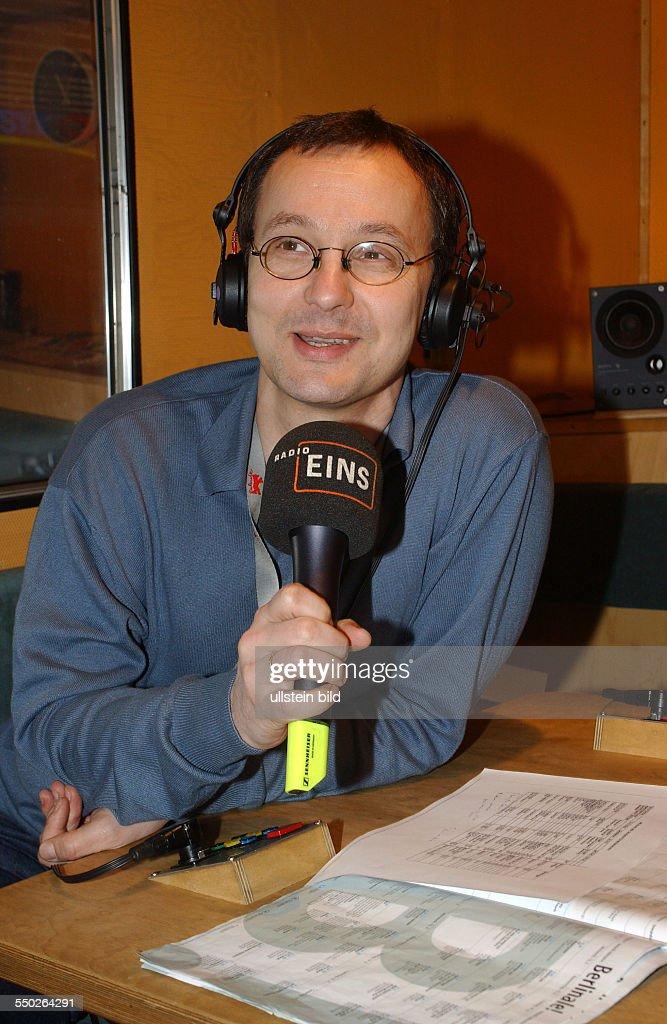 Kinoking Knut Elstermann im Radio Eins - Berlinalestudio