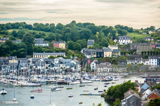 kinsale harbour - county cork stock pictures, royalty-free photos & images