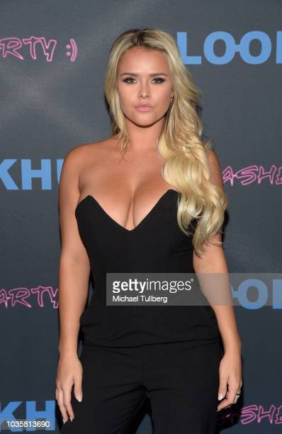 Kinsey Wolanski attends the premiere party for LookHu's Slasher Party at ArcLight Hollywood on September 18 2018 in Hollywood California