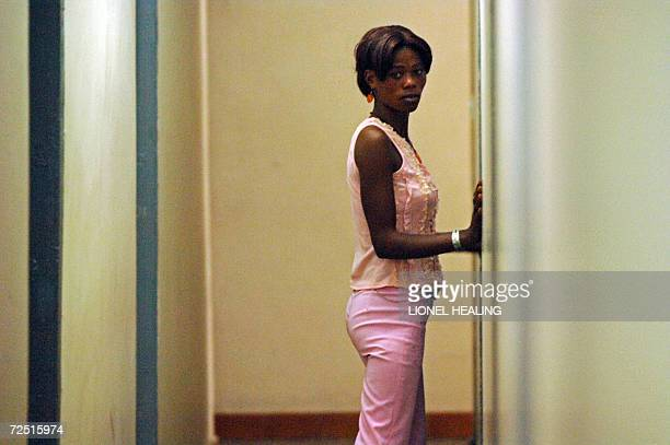 Kinshasa Democratic Republic of the Congo A prostitute waits in a corridor in a center run by MSF Doctors Without Borders 10 November 2006 in...
