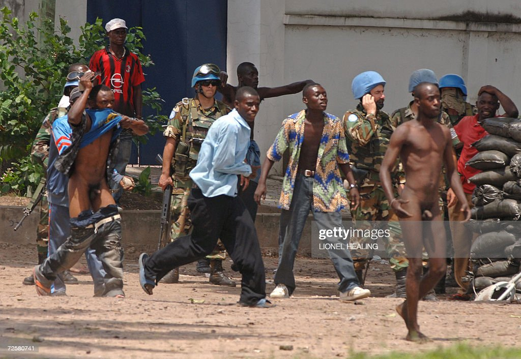 Naked music in congo