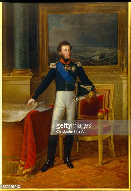 Kinson Francois Joseph Full Length Portrait of Louis Antoine of France 1825 Duke of Angouleme Palace of Versailles