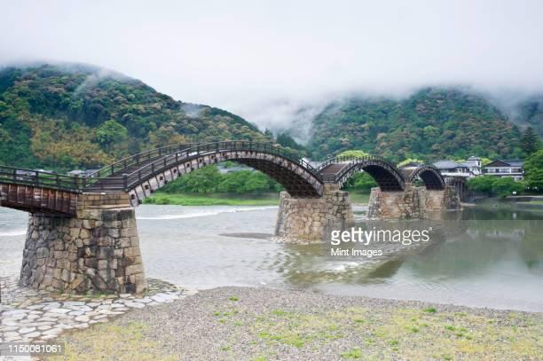 kintai bridge - 山口県 ストックフォトと画像