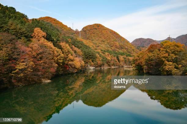 kinugawa river - nikko city stock pictures, royalty-free photos & images