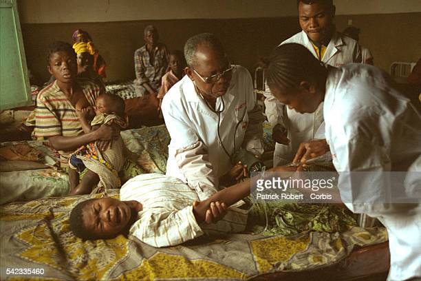 Kionzo Center. Treatment of sleeping sickness is long and painful. The drug used is corrosive and toxic, treatment alone kills between 5 & 10% of...