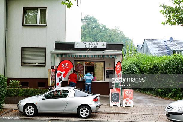 kiosk and refreshment stand in ruhrgebiet - ruhrområdet bildbanksfoton och bilder