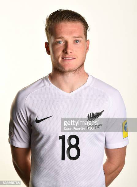 Kip Colvey of New Zealand poses for a pictures during the New Zealand team portrait session on June 13 2017 in Saint Petersburg Russia