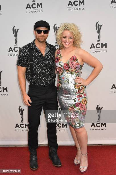 Kip Moore and Cam attends the 12th Annual ACM Honors at Ryman Auditorium on August 22 2018 in Nashville Tennessee