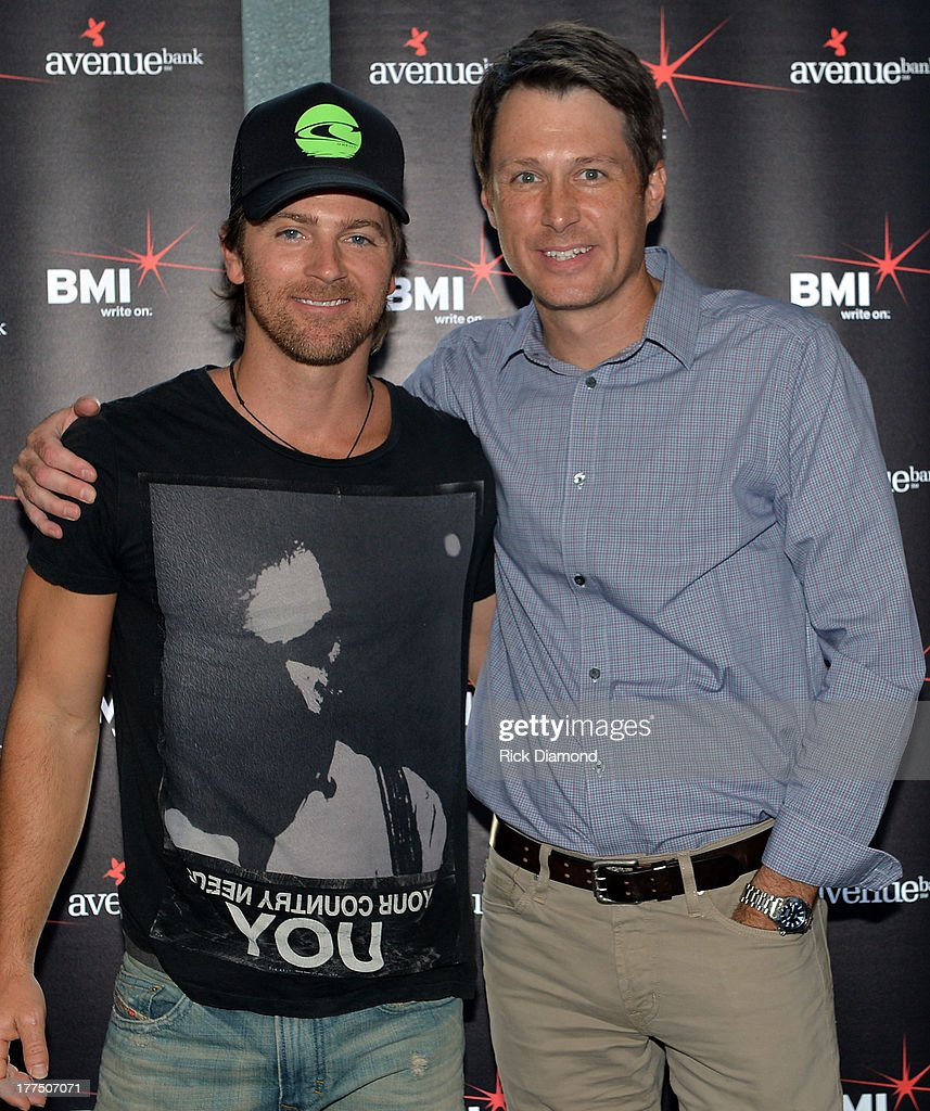 """BMI #1 Party For """"Hey Pretty Girl"""" By Kip Moore : News Photo"""