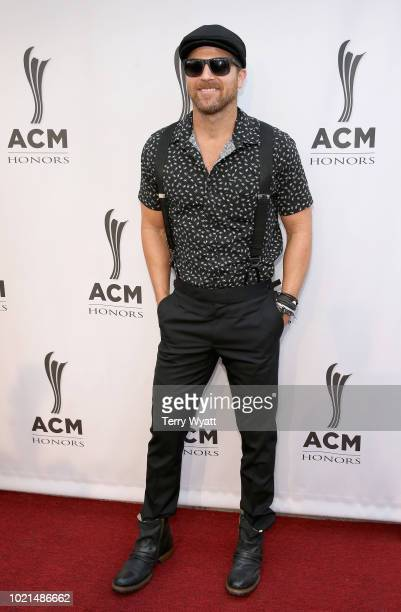 Kip Moore attends the 12th Annual ACM Honors at Ryman Auditorium on August 22 2018 in Nashville Tennessee