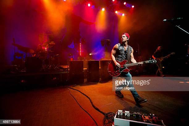 Kip Moore performs at The Fillmore Detroit on November 28 2014 in Detroit Michigan