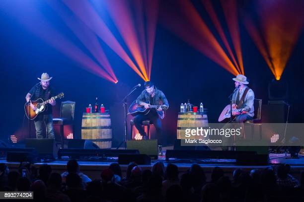 Kip Moore Randy Rogers and Wade Bowen perform at The Town Hall on December 14 2017 in New York City