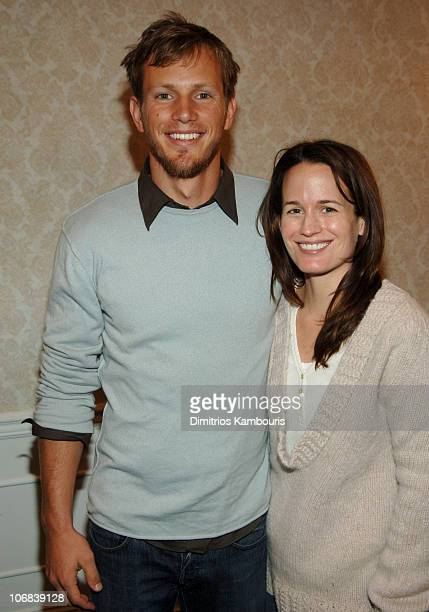 Kip Pardue and Elizabeth Reaser during 13th Annual Hamptons International Film Festival - Rising Stars Roundtable with Alan Cumming at Southampton...