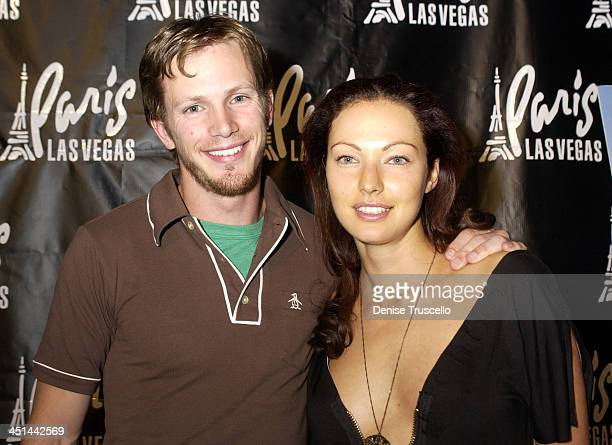Kip Pardue and Juliette Marquis during This Girls Life Premiere Party at Risque Ultra Lounge at The Paris Hotel at RISQUE at The Paris Hotel in Las...