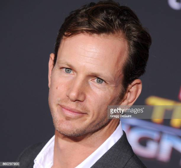 Kip Pardue arrives at the premiere of Disney and Marvel's 'Thor Ragnarok' at the El Capitan Theatre on October 10 2017 in Los Angeles California